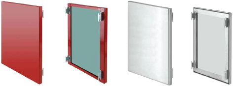 POWDER COATED STAINLESS STEEL PANELS & GALVANIZED STEEL PANELS